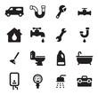 Plumbing Icons - 76388666