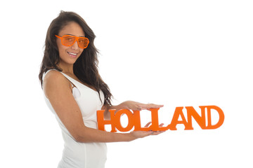Supporter for Holland