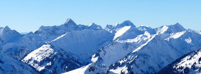 Alpen Berg Gipfel