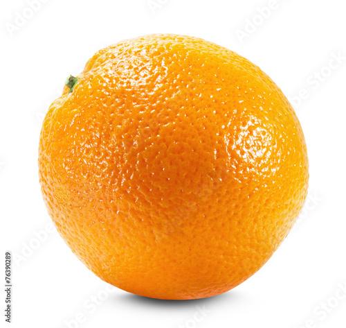 Orange isolated on the white background