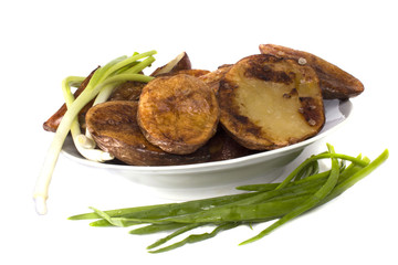 hot delicious baked potatoes