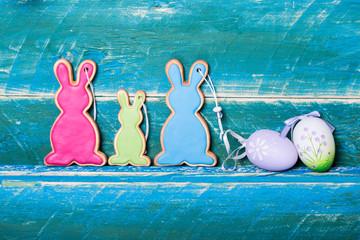 Oster ei und Hase