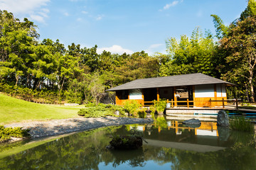 Beautiful view of Japanese Garden