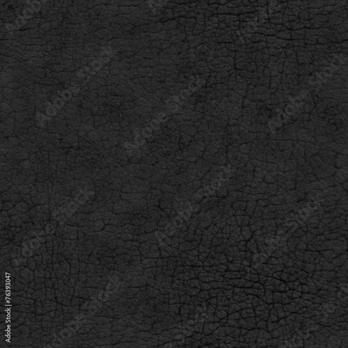 Fotobehang Stof Black Leather Seamless Texture