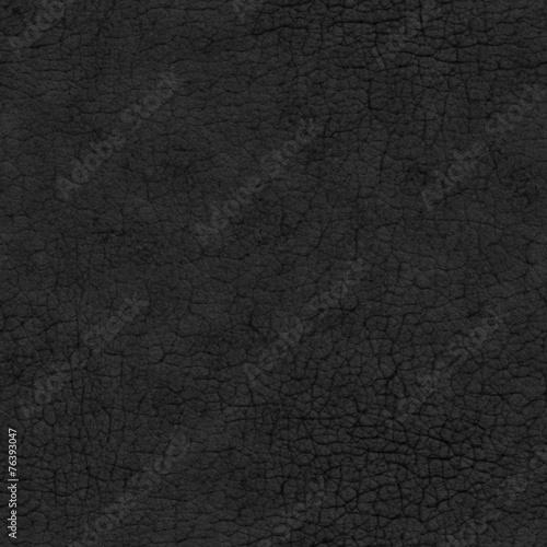 Tuinposter Stof Black Leather Seamless Texture