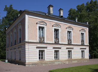 Oranienbaum (Lomonosov).Palace of the emperor Pyotr III..