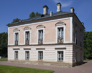 Oranienbaum (Lomonosov). Palace of emperor Pyotr III..