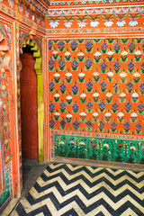 Indian traditional interior painting