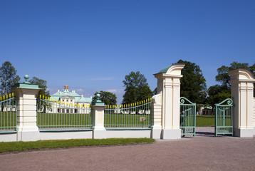 Petersburg. Oranienbaum (Lomonosov).Big Menshikovsky palace.