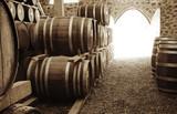 Wine barrels