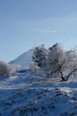Puy-de-Dôme en hiver
