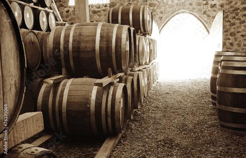 Wine barrels - 76395064
