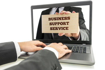 Online business support service