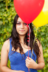 Girl with Balloons