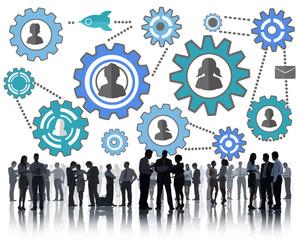 Community Business Team Partnership Collaboration Concept