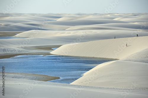 Lencois Maranhenses National Park, Brazil - 76397619