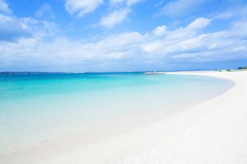 沖縄のビーチ・浜ふるさと海岸