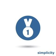simple medal