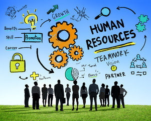 Human Resources Employment Job Teamwork Business Concept
