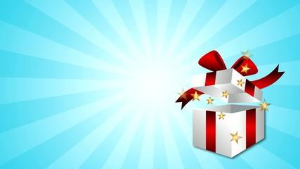 Gift Box Stars