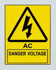 AC Danger Voltage