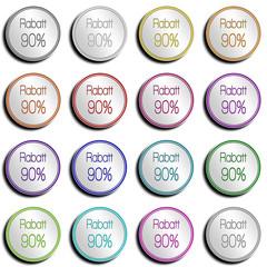 Button Minimal 90 PROZENT
