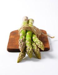 Bundle of fresh asparagus