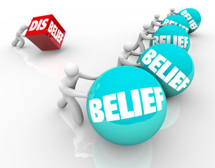 Belief Vs Disbelief Doubter Loses to People with Faith Success C