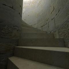 Castle stairway