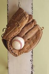 Baseball and Glove