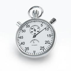 Ticking stopwatch