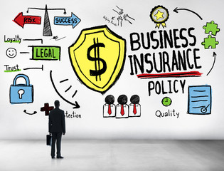 Businessman Planning Strategy Safety Risk Business Concept
