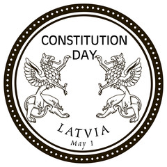 May 1st Constitution Day Latvia