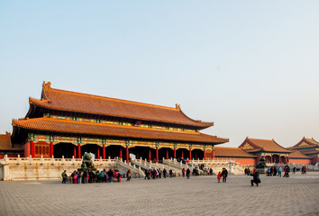 Forbidden city. Beijing, China