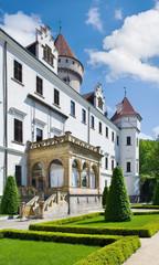Konopiste castle near Benesov, Czech republic, Czech republic