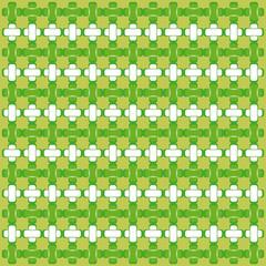 Astratto su sfondo verde
