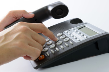 Dialling telephone