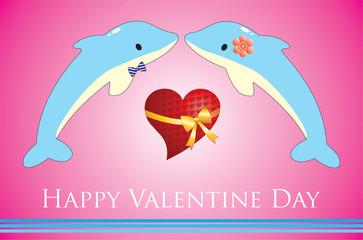 Dolphins valentine