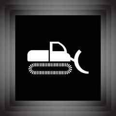 dredge vector icon