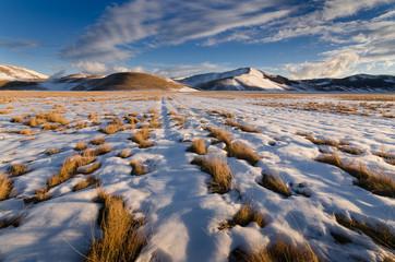 Neve sul Pian Grande