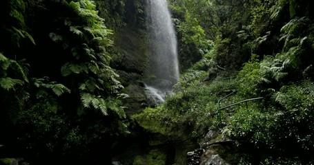 4K, Cascada De Los Tilos, Waterfall on La Palma, Canaries