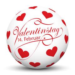 Kugel, Herz, Icon, Symbol, Valentinstag, Love, Liebe, Sphere, 3D