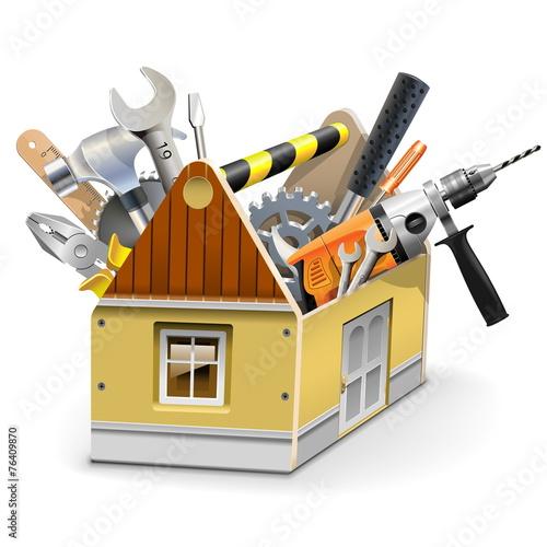 Vector House Toolbox - 76409870