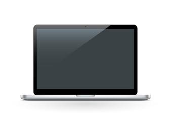 Notebook, Laptop, Icon, Symbol, Bildschirm, Monitor, front