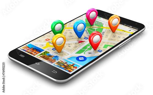 GPS navigation concept - 76410220