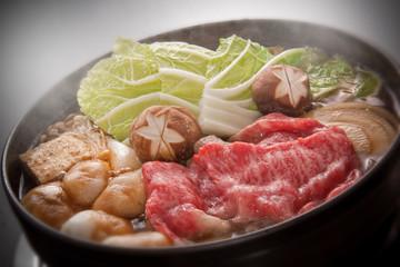 食べ物 日本食 和牛 すき焼き