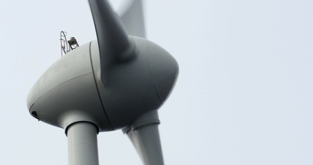4K, Windmill, Wind Turbine, Wind Generator, Closeup