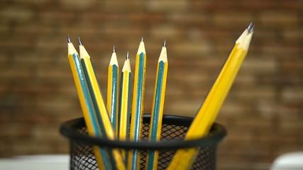 take a pencil