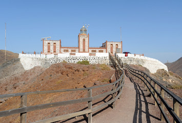Phare de la Entallada à Las Playitas à Fuerteventura