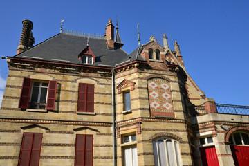 Ile de France, picturesque city of  Les Mureaux